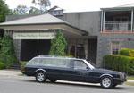 William Matthews funerals hearse